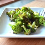 Roasted Broccoli Parmesan