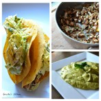 Roasted Chicken Tacos with Spicy Avocado Crema