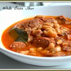Spanish White Bean Stew (My version of Fabada)
