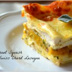 Butternut Squash and Swiss Chard Lasagna