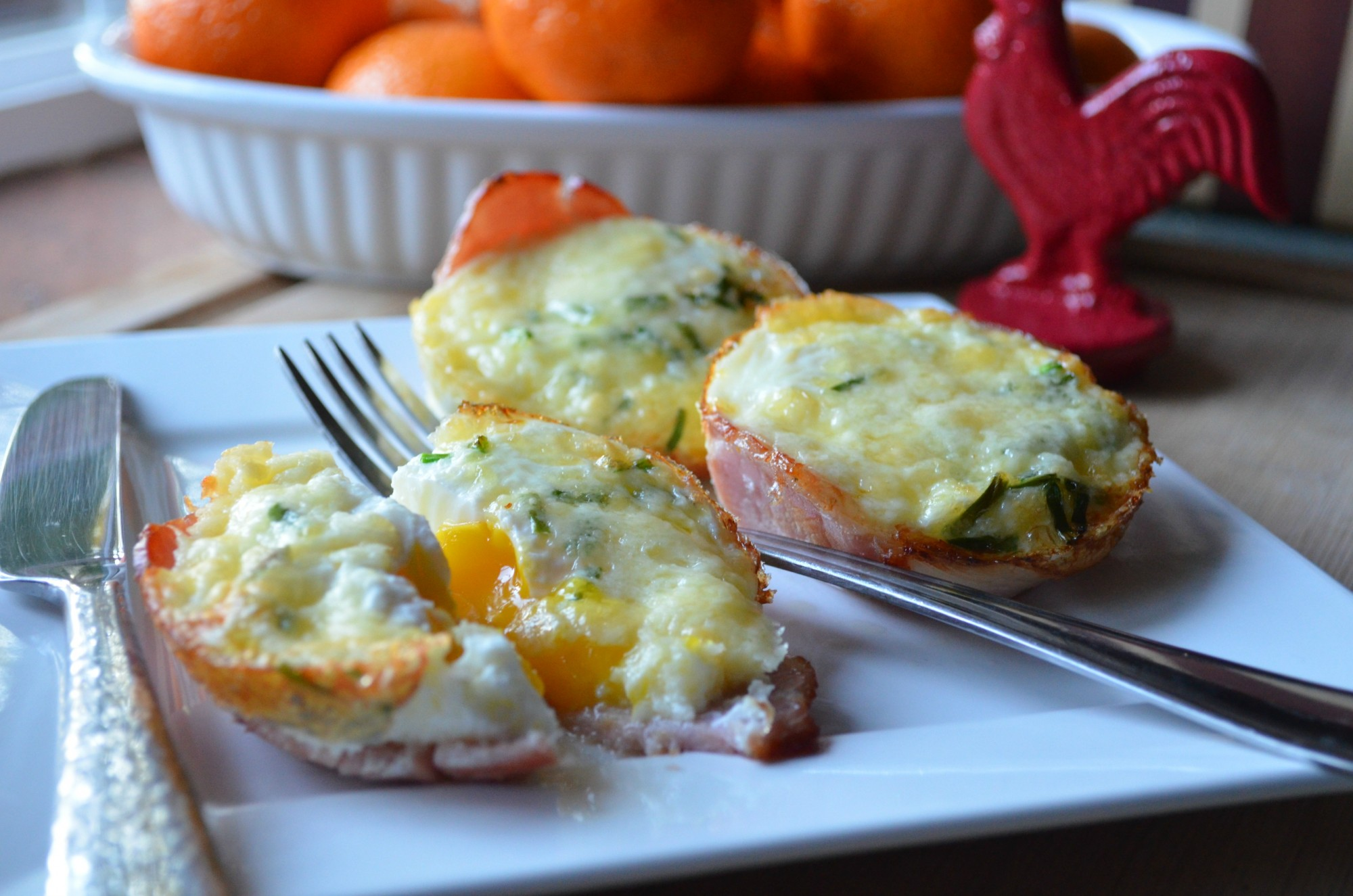 Baked Eggs and Havarti