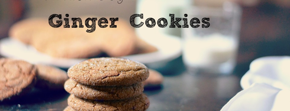 Black Dog Ginger Cookies