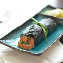 Nori Wrapped Salmon