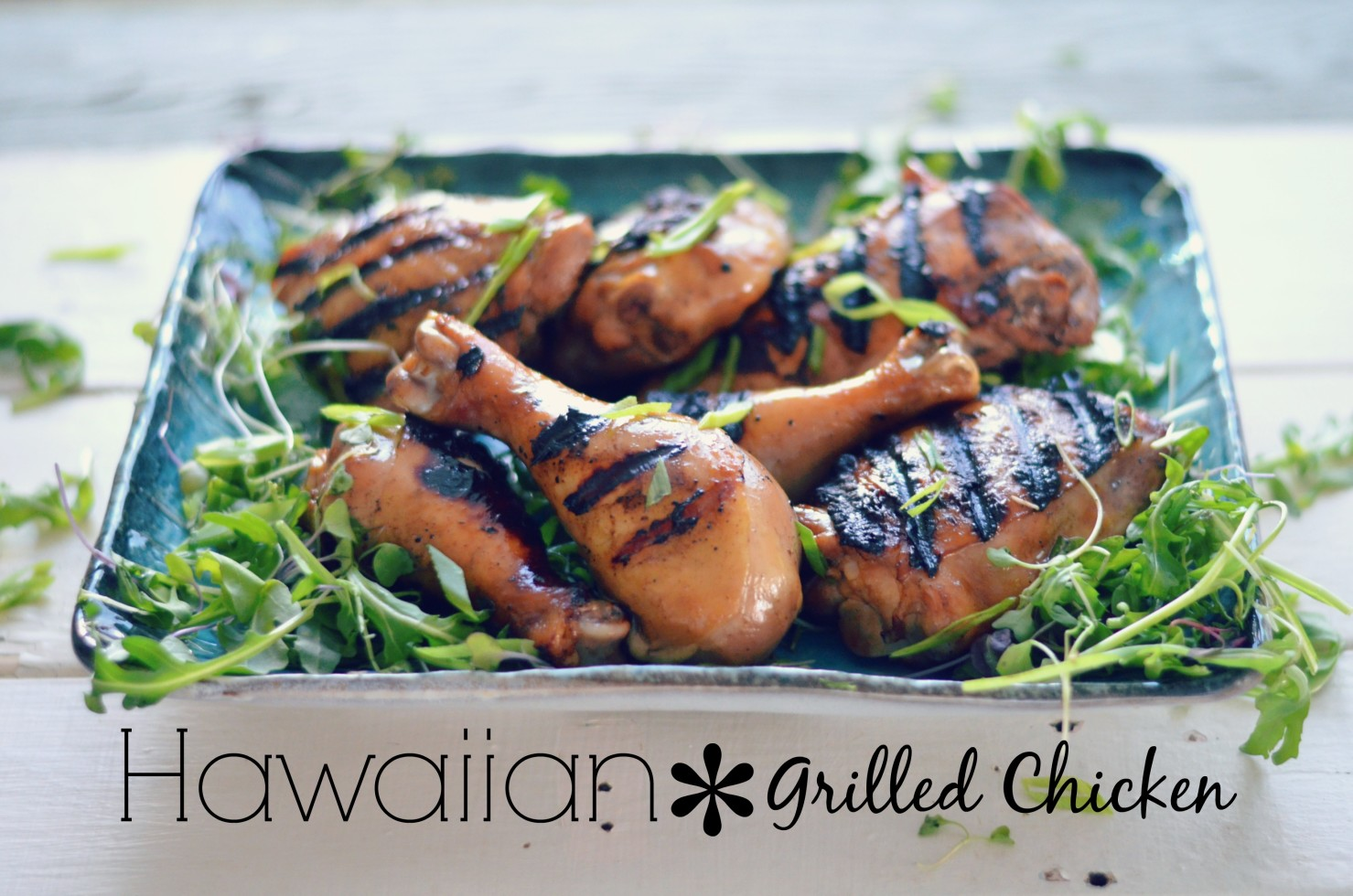 Pineapple Juice, soy sauce marinated and grilled chicken // karista's Kitchen