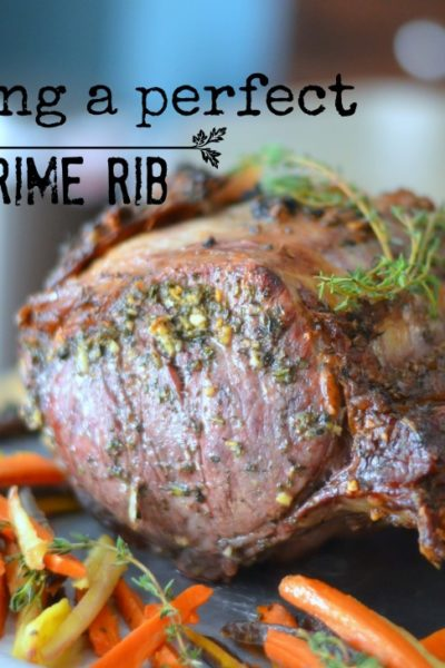 Roasting the perfect prime rib with Au Jus Gravy and Horseradish Sauce // Karista's Kitchen // VRAI Magazine