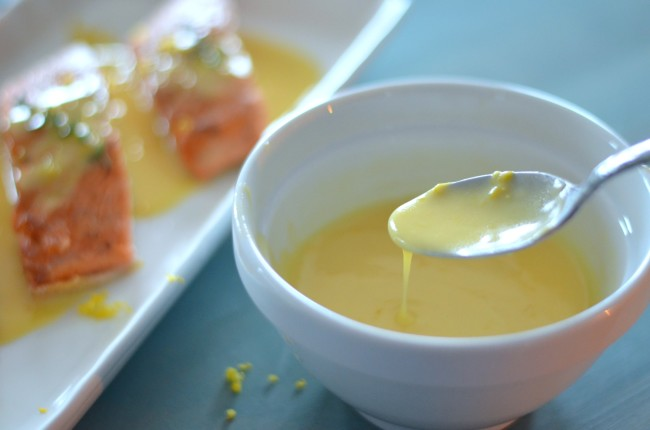 Meyer Lemon Beurre Blanc  // Karista's Kitchen