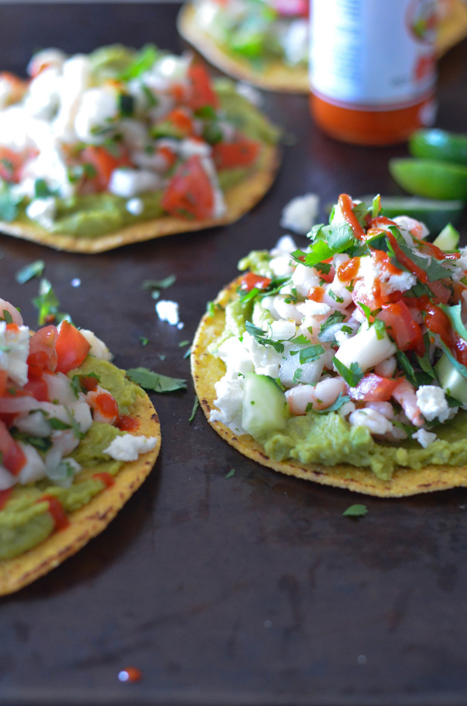 Scallop and Bay Shrimp Ceviche Tostadas // Karista's Kitchen