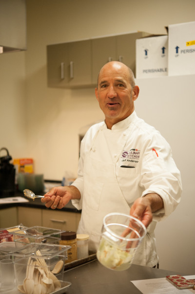 The fabulous Chef Jeff // photo credits Liza Gershman Photography