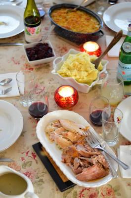Thanksgiving Table // Karista's Kitchen