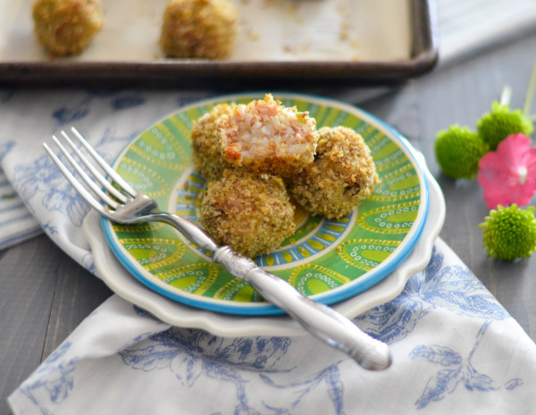 Easy Baked Boudin Balls with Honey Mustard Dipping Sauce // Karista's Kitchen