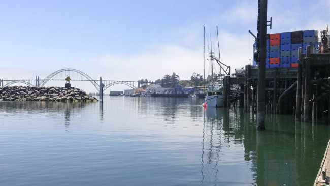 The docks in Newport, Oregon // Karista's Kitchen