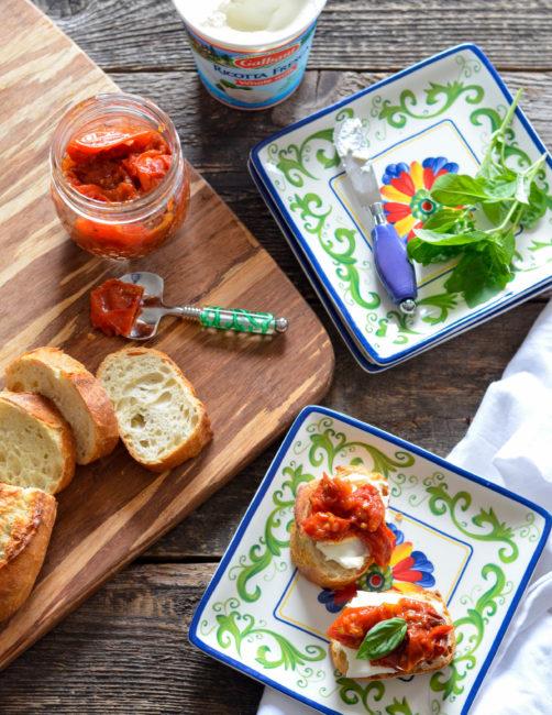 Jammy Roasted Tomatoes // Karista's Kitchen