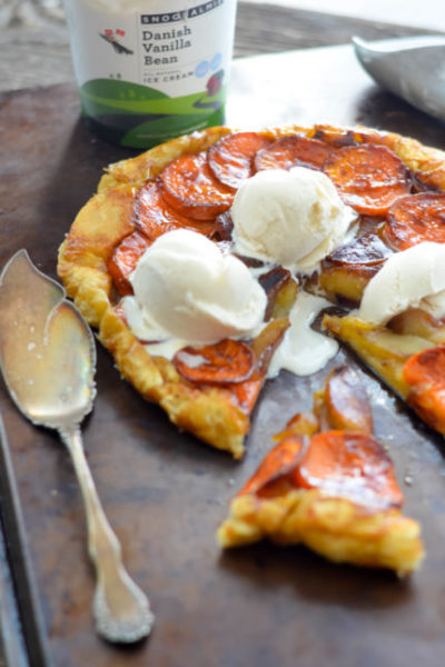 Sweet Potato and Apple Tarte Tatin // Karista's Kitchen // A View to Delicious Magazine