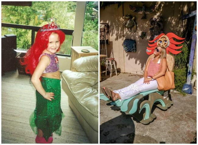 Amelia and her Mermaid Chair // Karista's Kitchen