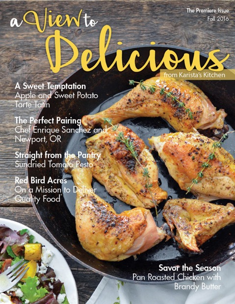 A View to Delicious // Karista's Kitchen and VRAI Magazine premiere food issue Fall 2016