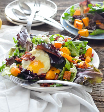 Autumn Harvest Salad from A View to Delicious Magazine // Karista's Kitchen