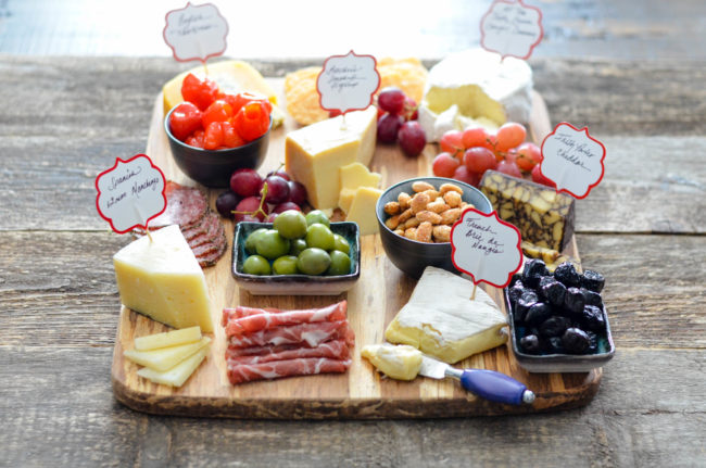 Holiday Cheese Board with Nibbles // Karista's Kitchen