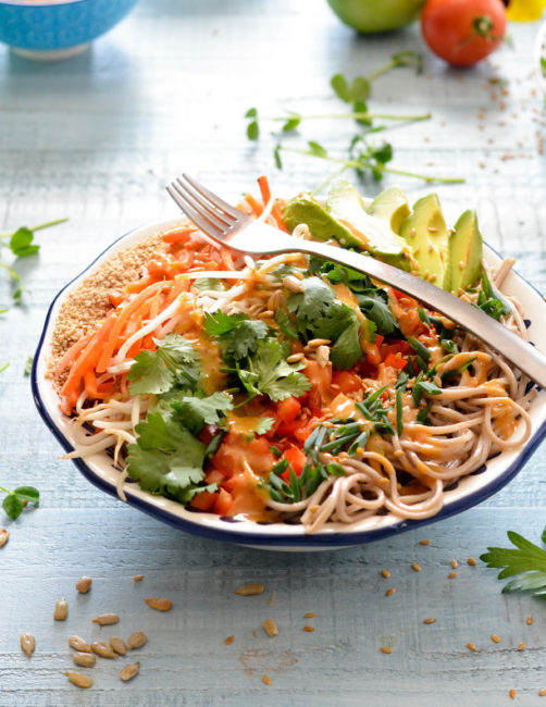 Asian Noodle Salad Bowl