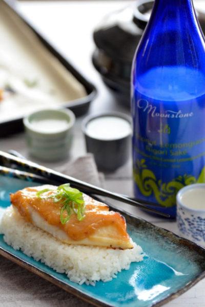 Miso Sake Glazed Cod