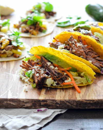 Slow Cooked Barbacoa Tacos // Karista's Kitchen