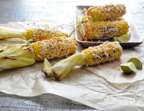 Mexican Grilled Corn on the Cob (Elote) // Karista's Kitchen