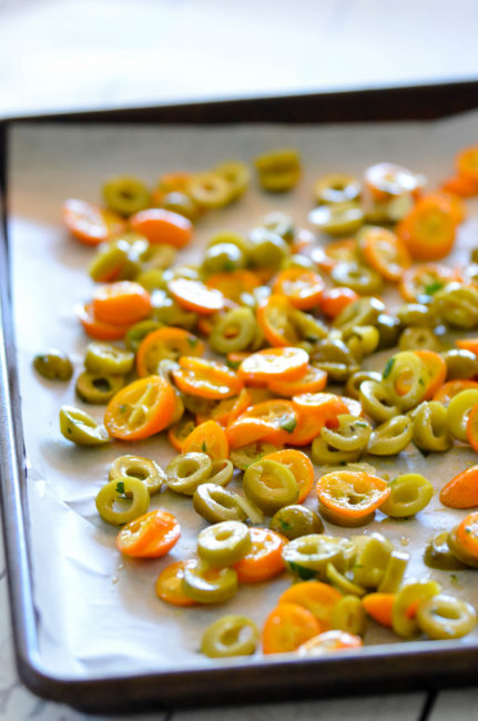 Roasted Green Olives and Kumquats // Karista's Kitchen