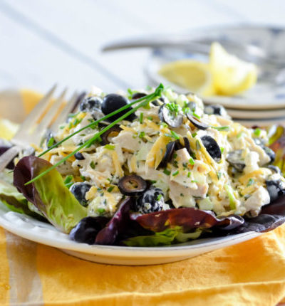Olive and Rosemary Chicken Salad // Karista's Kitchen