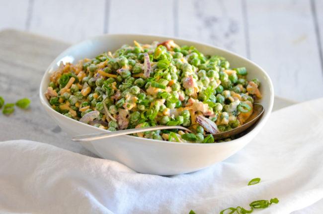 Traditional Pea Salad Recipe