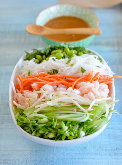 Spring Roll Bowl from Karista's Kitchen