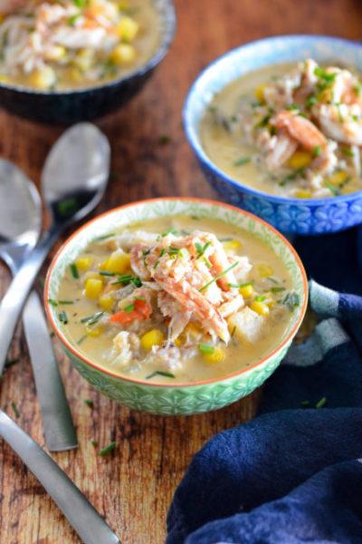 Crab and Corn Chowder / Karista's Kitchen