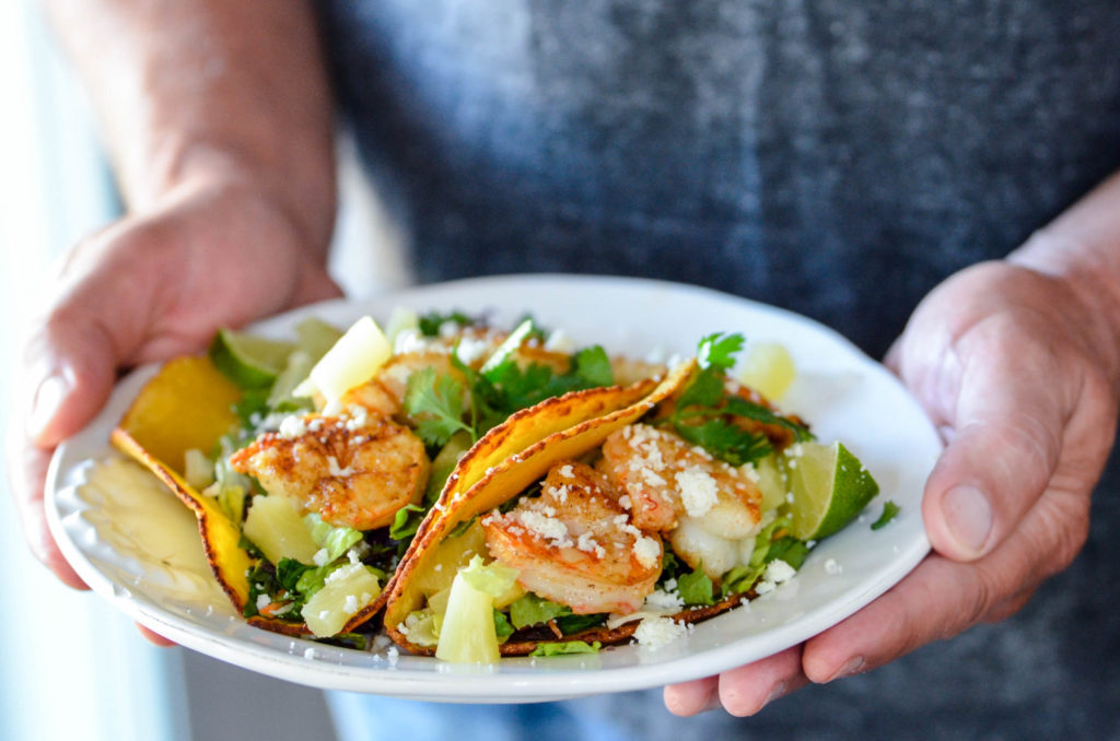 The Best Grilled Shrimp Tacos