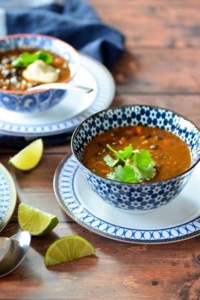 Easy Black Bean Soup