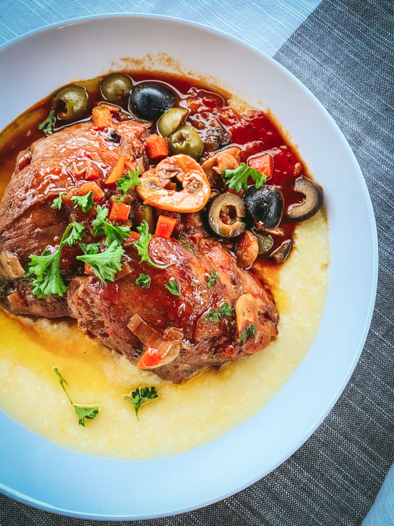 Flavorful and easy chicken cacciatore