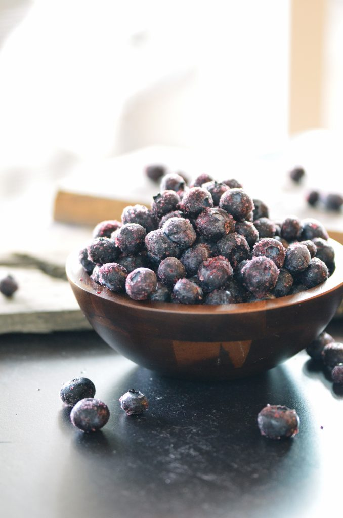 Frozen Oregon Blueberries